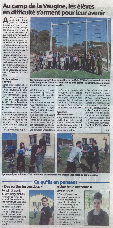 Revue de presse du 27 mars 2017
